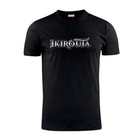 Ikirouta t-paita musta mallikuva